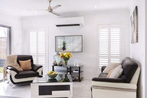EasyAS Adjustable DIY Plantation Shutters - Lounge