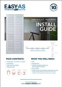 Multi Panel Install Cover